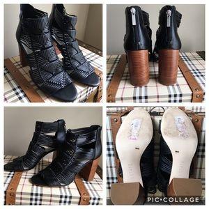 1.State Kenton Woven Block Heel Sandals, Sz 10